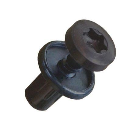 Kárpitrögzítő patent 12,2x6,2x12 fekete, 10 db/csomag Citroen Peugeot Renault