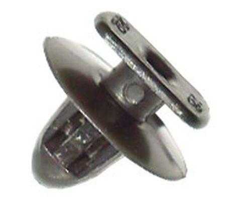 Ajtókárpit rögzítő patent 6,5x11x5,3x8 fekete, 10 db/csomag Citroen Peugeot