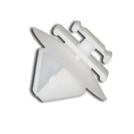 Díszlécrögzítő patent 9,9x8,1x8x10,6 fehér, 10 db/csomag Citroen Peugeot Renault