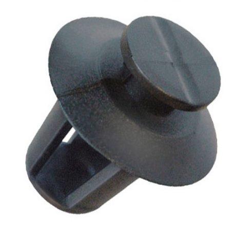 Díszlécrögzítő patent 10,5x9x14,5 fekete, 10 db/csomag Citroen Peugeot