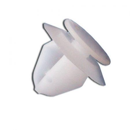 Kárpitrögzítő patent 13x9x12 fehér, 10 db/csomag Citroen Peugeot
