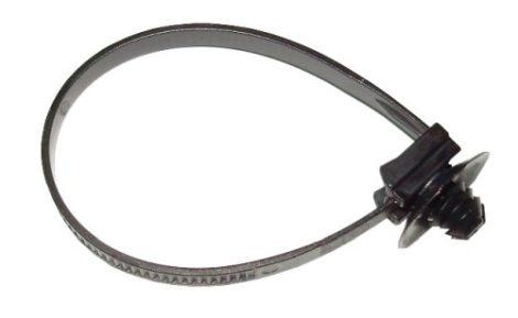 Vezetékrögzítő patent 140x5x6x7 fekete, 10 db/csomag Citroen Peugeot