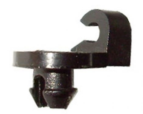 Rudazat rögzítő patent 3x5,5x5,3 fekete, 5 db/csomag Citroen Peugeot