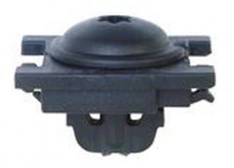 Első sárvédő rögzítő patent 25x31,5x16x5x9,2 fekete, 5 db/csomag Citroen Peugeot