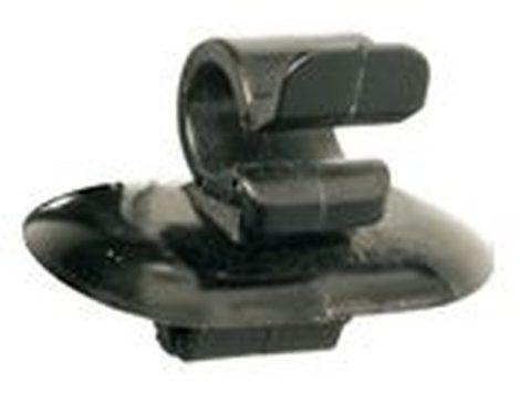 Motorháztető támasztó rúd rögzítő patent 7x5x16x7,5 fekete, 2 db/csomag Citroen Peugeot