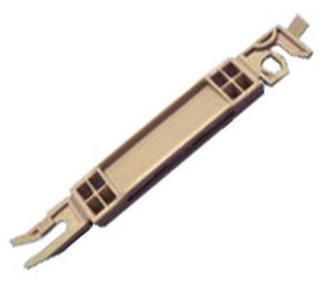 Első szélvédő díszléc rögzítő patent 81,7x11,8 szürke - alsó, 5 db/csomag Citroen Peugeot