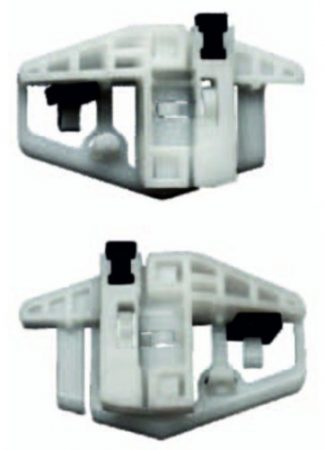 Első ajtóüveg rögzítő patent készlet jobbos+balos 2db/cs Citroen Peugeot Renault