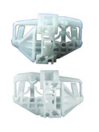 Első ajtóüveg rögzítő patent készlet balos+jobbos 2db/cs Citroen Peugeot
