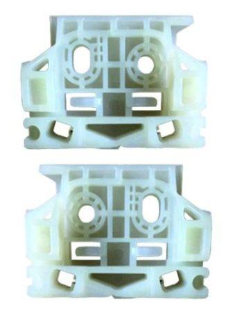 Első ajtóüveg rögzítő patent készlet- balos+jobbos 2db/cs Citroen Peugeot
