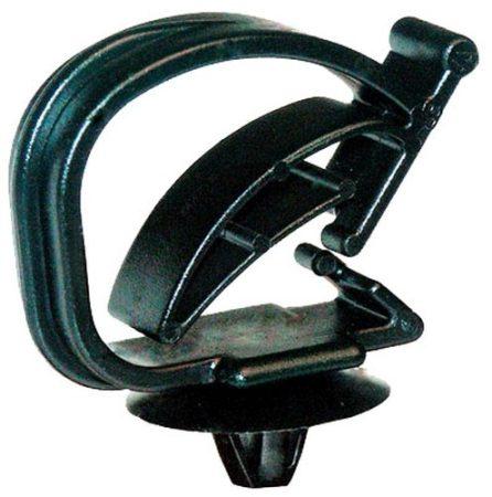 Univerzális vezetékrögzítő patent 8-15x6,5 fekete, 5 db/csomag BMW Opel Ford