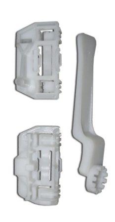Ajtóüveg rögzítő patent készlet fehér (balos) Ford