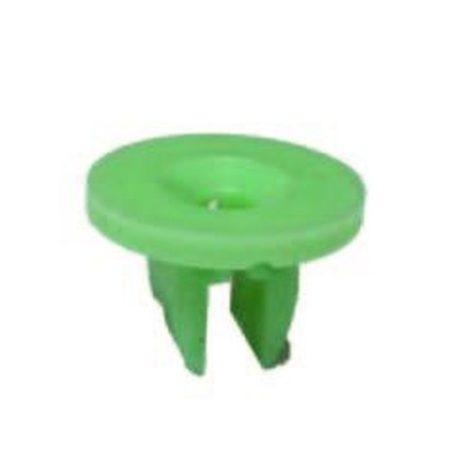 Kerékjárati dobbetét rögzítő patent 5,5x15,5x10x10 zöld, 10 db/csomag Ford Univerzális