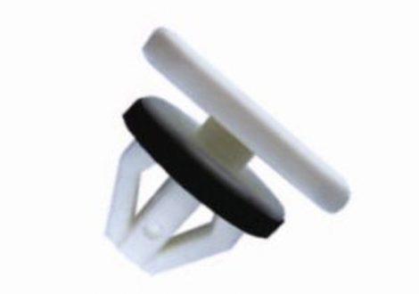 Oldaldíszléc rögzítő patent 12x20x11,5x7x10,4 fehér, 10 db/csomag Ford