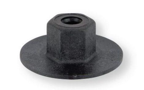 Szélvédő alatti rács rögzítő patent 22x5x7 fekete, 10 db/csomag Fiat Ford Mercedes Benz Smart Dacia