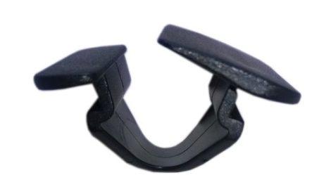 Motorháztető szigetelés rögzítő patent 24x30x12x19,5x12 fekete, 10 db/csomag Ford