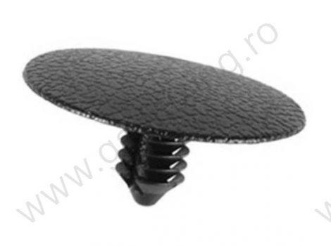 Motorháztető szigetelés rögzítő patent 31x7,6x13,4 fekete, 10 db/csomag, FORD