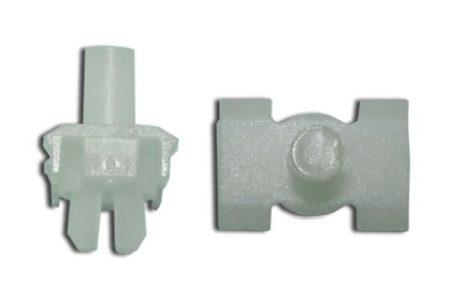 Küszöb és sárvédődíszléc rögzítő patent 12,6x18x6,5x6,1 natúr, 10 db/csomag Mercedes Benz