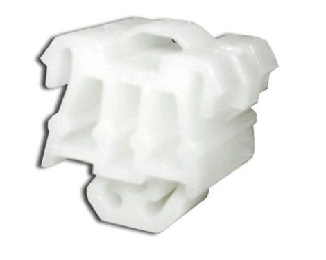 Díszlécrögzítő patent 18x20 fehér, 10 db/csomag Mercedes Benz