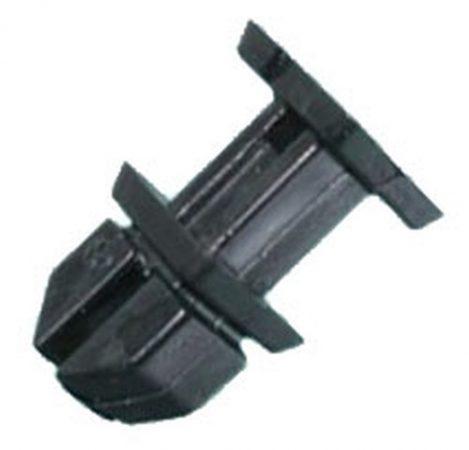 Kárpitrögzítő patent 10,5x13x8x9x8,9 fekete, 10 db/csomag Mercedes Benz