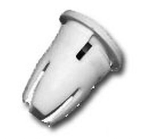 Oldaldíszléc rögzítő hüvely 11,5x8,5x14 fehér, 10 db/csomag Mercedes Benz