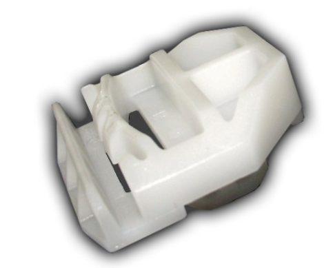 Díszlécrögzítő patent 30x27x10 fehér, 10 db/csomag Mercedes Benz