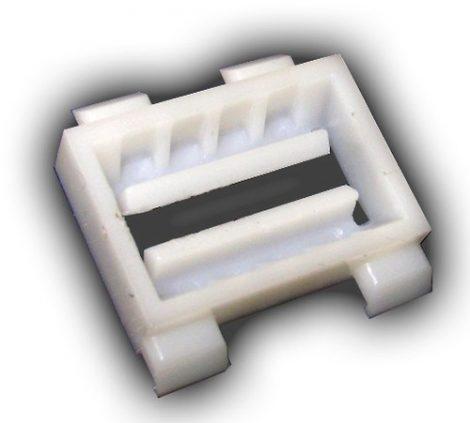 Oldaldíszléc rögzítő patent 22,5x23 fehér (teljes készlet a 185047 vagy 185030), 10 db/csomag Mercedes Benz