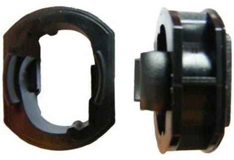 Küszöbdíszléc rögzítő patent 30x23x22x15 fekete, 5 db/csomag, Mercedes Benz