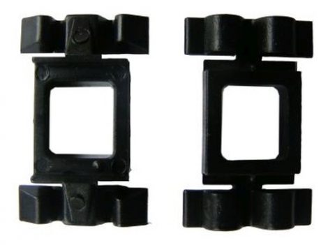 Küszöbdíszléc rögzítő patent 22x14x7,8x7 fekete, 10 db/csomag Mercedes Benz
