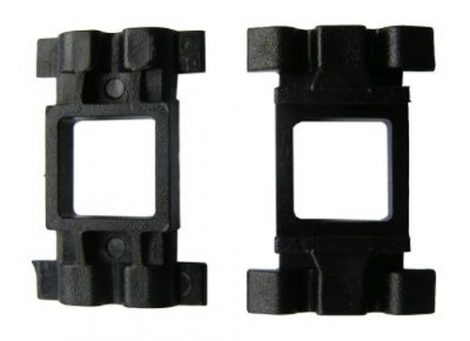 Küszöbdíszléc rögzítő patent 26x17x9,3x9 fekete, 10 db/csomag Mercedes Benz