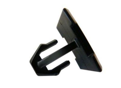 Küszöbdíszléc rögzítő patent 18,95x17,95 fekete, 5 db/csomag Mercedes Benz