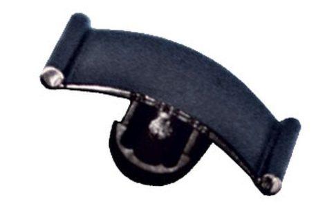 Motorháztető szigetelés rögzítő patent 18x22x6,2x9,3 fekete, 10 db/csomag Opel GM Daewoo Chevrolet