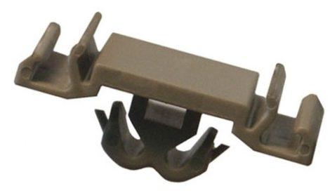 Díszlécrögzítő patent 15x27x8x9,5x7,4 szürke, 10 db/csomag Opel GM