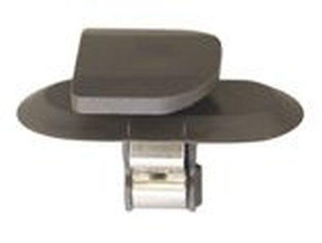 Oldaldíszléc rögzítő patent 17x14x8x11 fekete, 5 db/csomag Opel GM