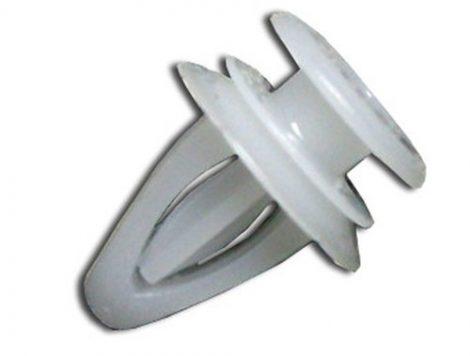 Belső tükörburkolat rögzítő patent 10x6x10,3 fehér, 10 db/csomag Opel GM