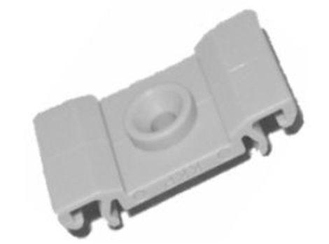 Díszlécrögzítő patent 15x27x3 szürke, 10 db/csomag Opel GM