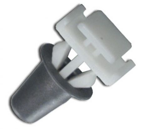 Díszlécrögzítő patent 10x11,3x8,5x13 fehér, 10 db/csomag Opel GM Daewoo Chevrolet