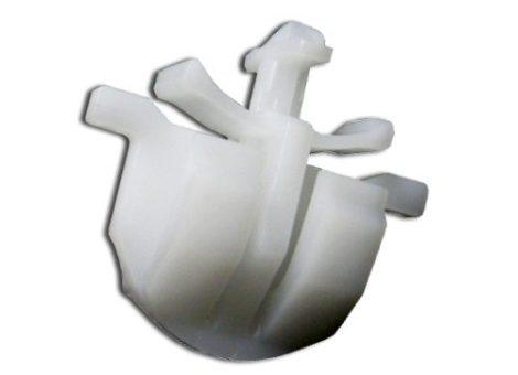 Levegő beömlő rögzítő patent 25,8x12,5x15 fehér, 10 db/csomag Opel GM