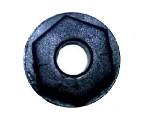 Díszlécrögzítő műanyag anya 15x4,8 fekete, 5 db/csomag Opel GM