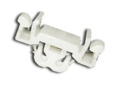 Díszlécrögzítő patent 15x22x10x8x6,7 fehér, 5 db/csomag Opel GM