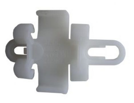 Küszöbdíszléc rögzítő patent 47x31 fehér, 5 db/csomag Opel GM