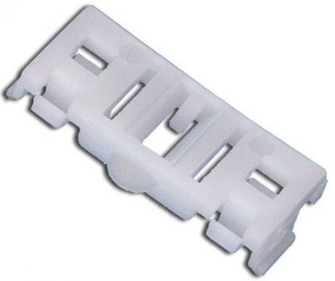 Díszlécrögzítő patent 14,5x35 fehér, 10 db/csomag Renault