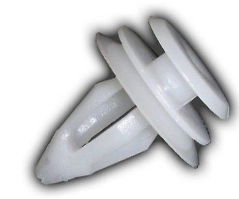 Ajtókárpit rögzítő patent 14,3x8x15,2 fehér, 10 db/csomag BMW Renault