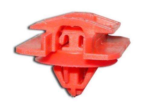 Díszlécrögzítő patent 22x25x8x8,9 piros, 5 db/csomag Renault