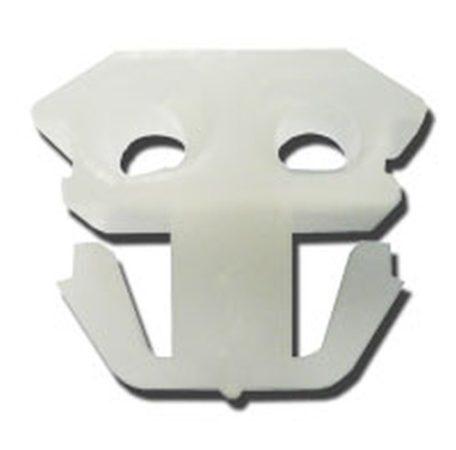Oldaldíszléc rögzítő patent 13x12x11x5,5 fehér, 10 db/csomag Renault