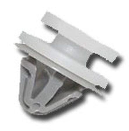 Ajtókárpit rögzítő patent 12,4x9,3x8 fehér+szürke, 10 db/csomag Opel Renault