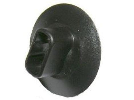 Kerékjárati dobbetét,kárpitrögzítő patent 30x15,2x8,2x10 fekete, 10 db/csomag Renault Dacia