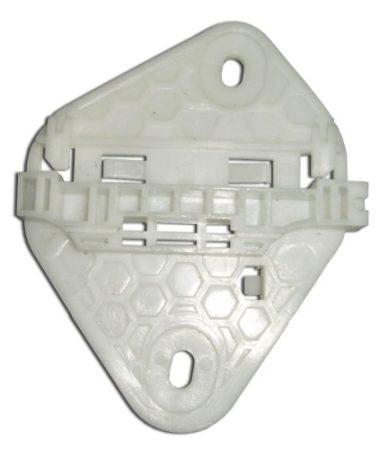 Ajtóüveg rögzítő patent balos 122x99 fehér Renault Dacia