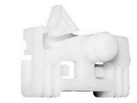 Ajtóüveg rögzítő patent balos 44,2x26x9,8 fehér Renault