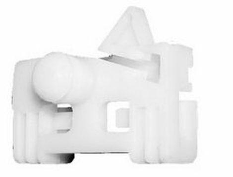 Ajtóüveg rögzítő patent jobbos 44,2x26x9,8 fehér Renault