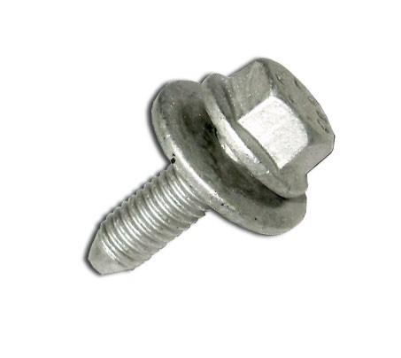 Alátétes, hatlapfejű fejű csavar (galvanizált) 10db/cs